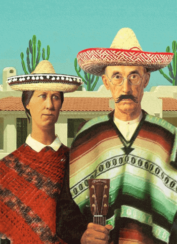 Pic: Amexican Gothic